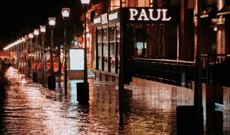 Town Flood - featured